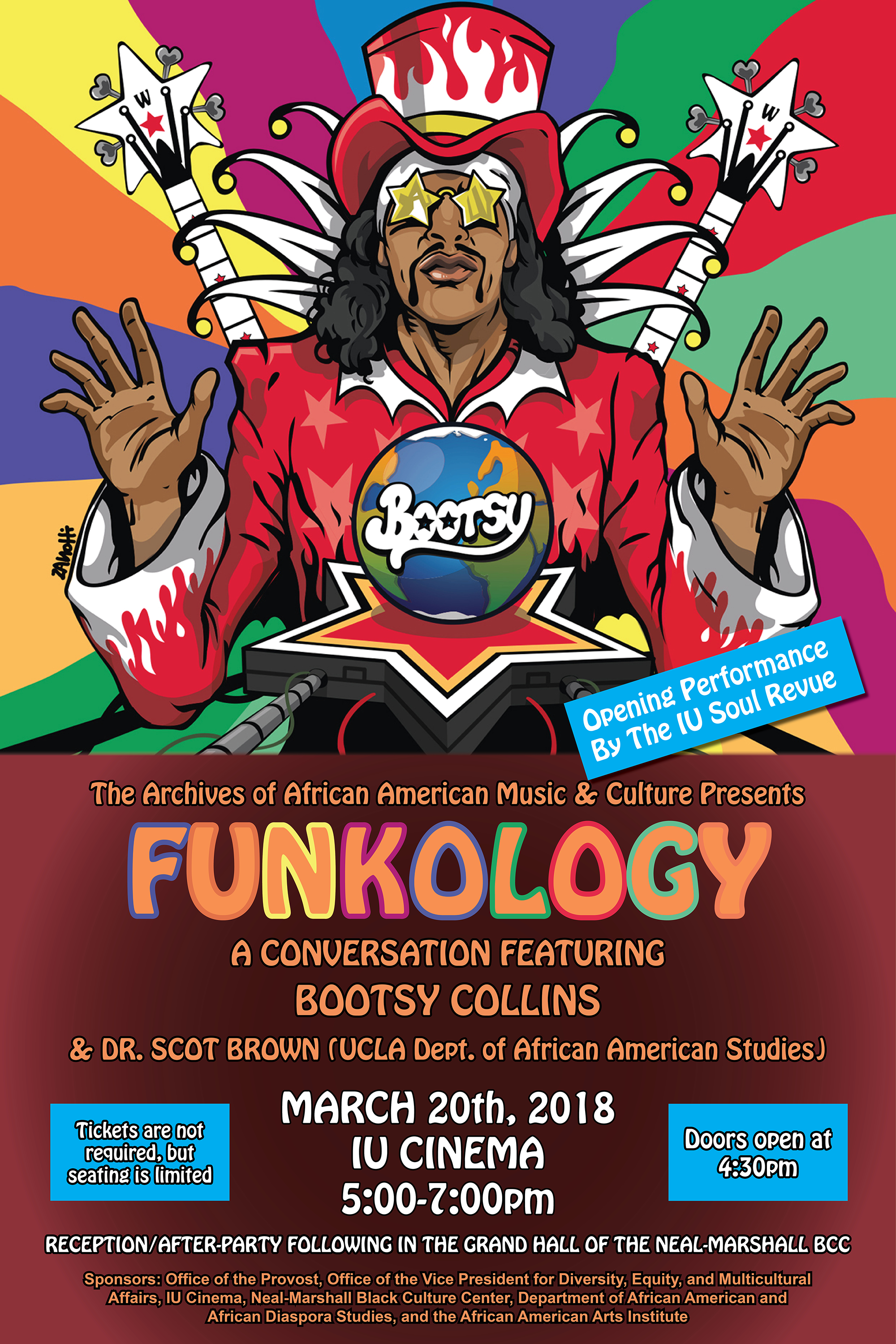 Funkology event graphic